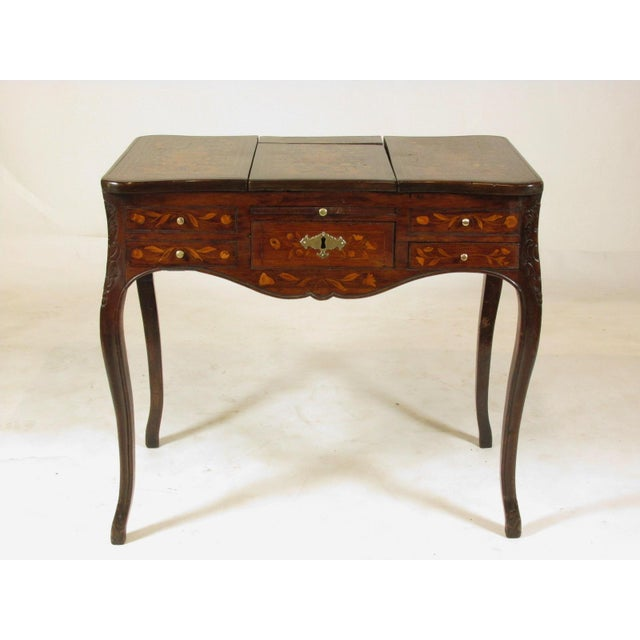 19th Century French Marquetry Podruse For Sale - Image 13 of 13