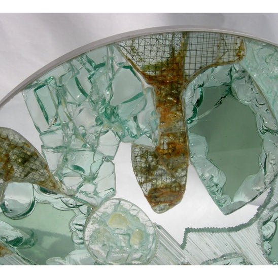 Large Free Standing Glass Sculpture by Kamp - Image 6 of 8