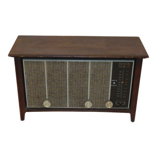 1930s Vintage Zenith Brown Radio For Sale