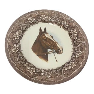 Vintage English Horse Decorative Plate