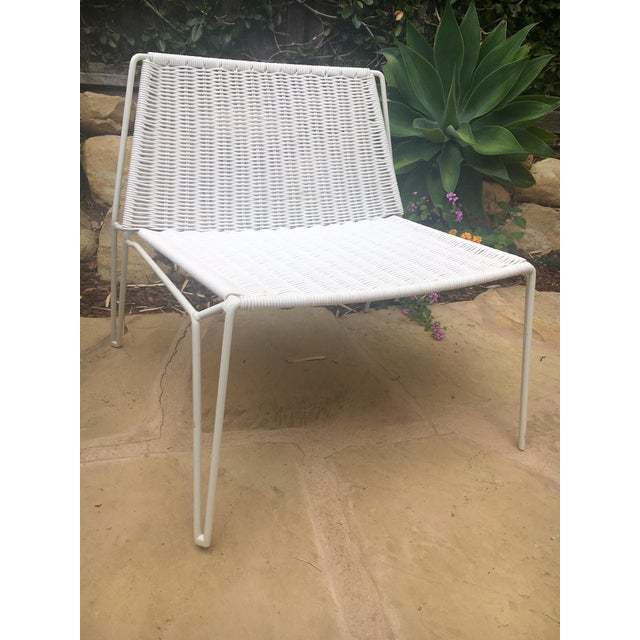 Room & Board Penelope Outdoor Loungers - A Pair - Image 3 of 8