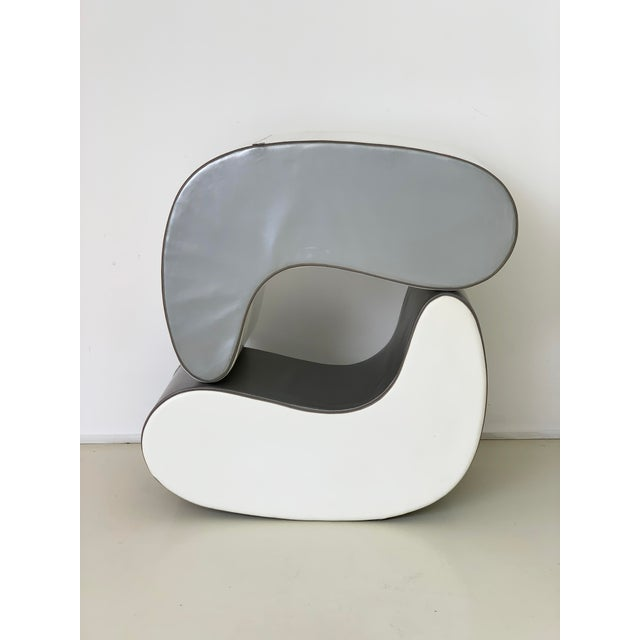 1960s Italian Rocking Boomerang Chairs - a Pair For Sale - Image 4 of 12