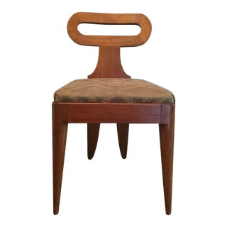 Parisian One of a Kind Art Deco Accent Chair For Sale