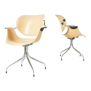 Pair of George Nelson Maa Chairs For Sale