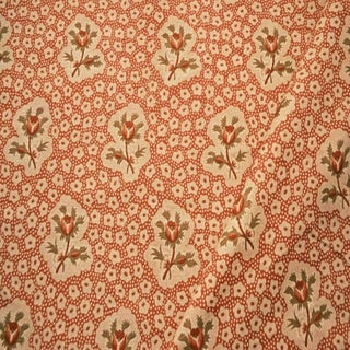Boho Chic Jane Shelton Rose Medallions Linen Designer Fabric by the Yard Preview