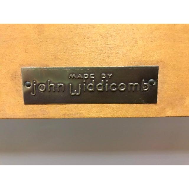John Widdicomb Maker of Fine Furniture Full Double Bedframe For Sale - Image 12 of 13