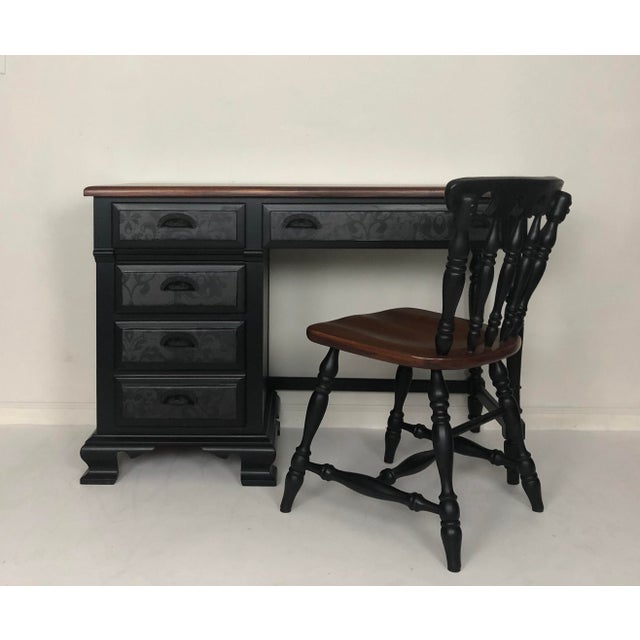 Vintage Desk and Chair - Set of 2 For Sale - Image 13 of 13