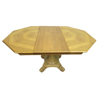 Traditional Octagon Table For Sale