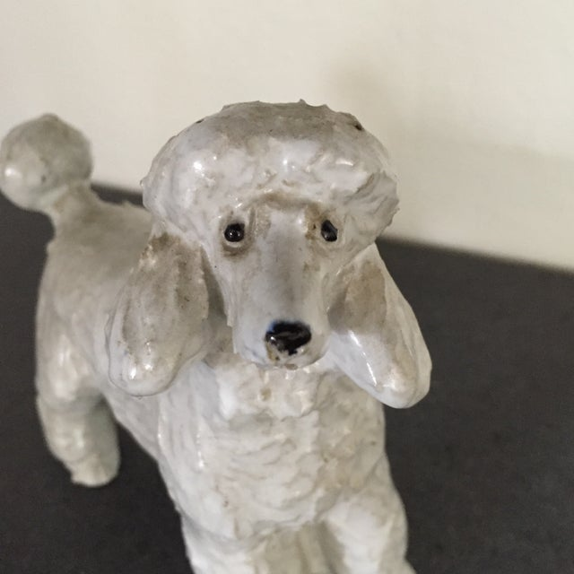 Vintage Pottery Poodle - Image 5 of 8