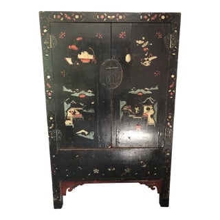 1930s Chinese Wedding Cabinet Armoire For Sale
