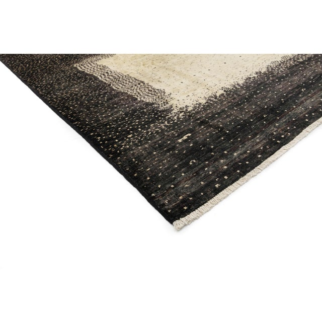 """New Gabbeh Hand-Knotted Rug - 6'6"""" x 9'8"""" - Image 2 of 3"""