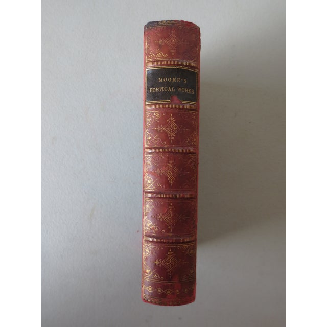 Traditional Antique 'The Poetical Works of Thomas Moore' Book For Sale - Image 3 of 8