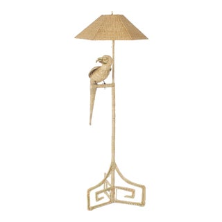 Mario Torres Parrot Floor Lamp For Sale