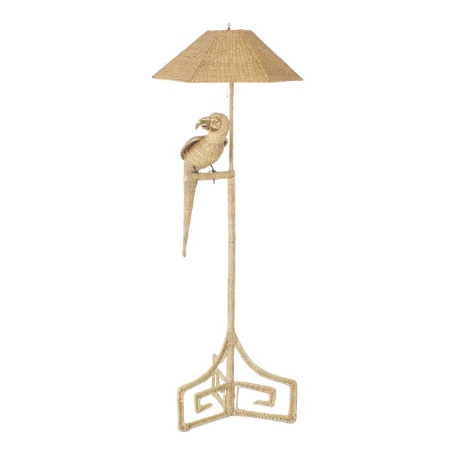 Mario Torres Parrot Floor Lamp For Sale