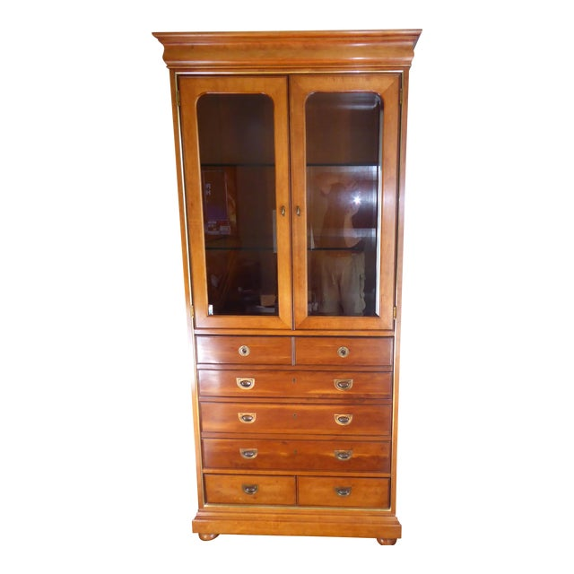 Mt. Airy Display Armoire Cabinet - Image 1 of 11