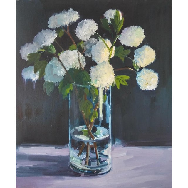 "Contemporary Paula McCarty ""Hydrangeas"" Print For Sale - Image 3 of 4"