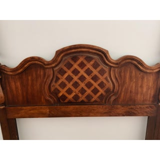 1970s French Country Thomasville Full Size Headboard Preview