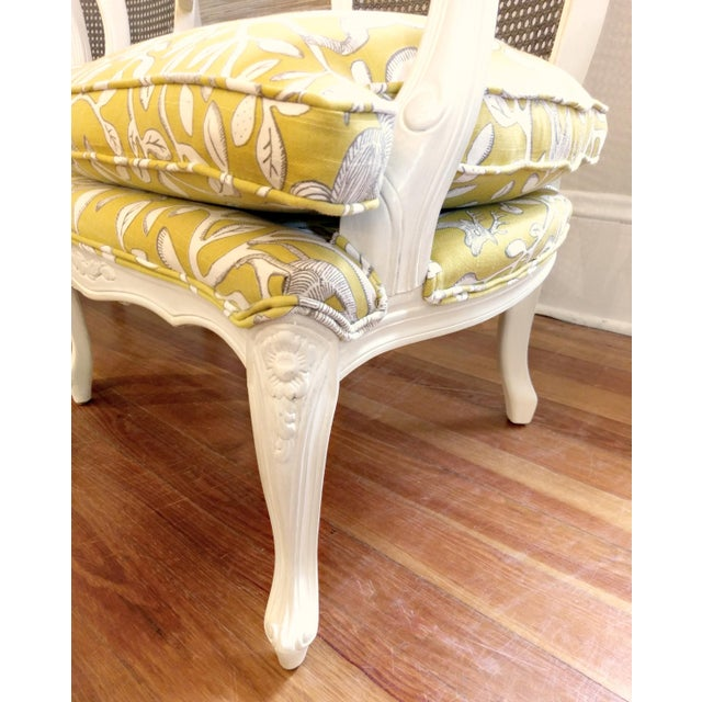 20th Century French Country Cane Back Chairs - a Pair For Sale In Orlando - Image 6 of 11
