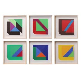 Framed Pfahler Serigraphs