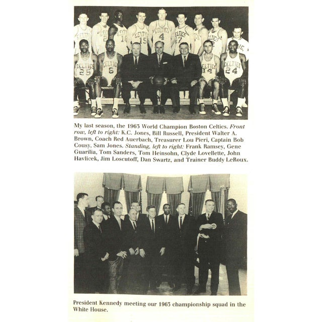 """1980s 1988 """"Signed Edition, Cousy on the Celtic Mystique"""" Collectible Book For Sale - Image 5 of 6"""