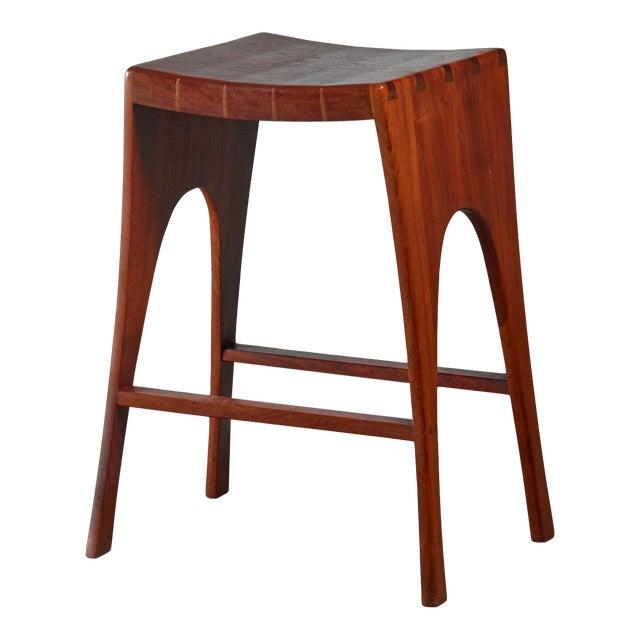 John Nyquist Studio Craft Stool, Usa, 1960s For Sale