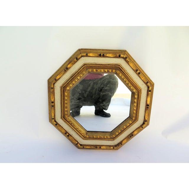 Vintage 1960's Gold Leaf Mirror - Image 4 of 4