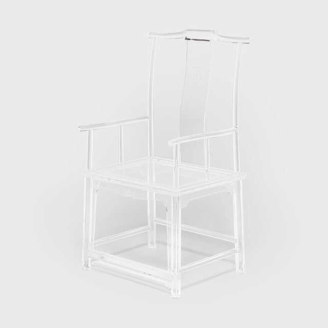 Asian Invisible Administrator's Chair by July Zhou For Sale - Image 3 of 8