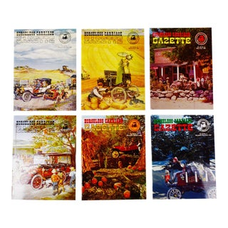 Horseless Carriage Gazette Magazines - 1967 Full Year - Collectible