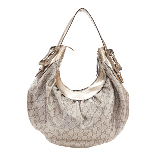 d73409122a7 Late 20th Century Vintage Gucci Bree Guccissima Hobo Bag For Sale