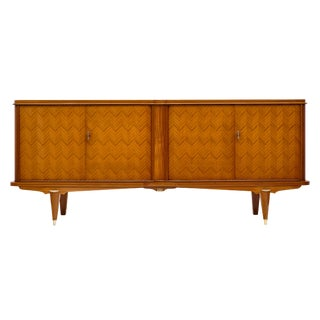 French Rosewood Marquetry Buffet For Sale