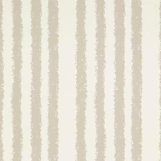 Sample - Schumacher Tree Stand Wallpaper in Linen For Sale