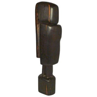 """Monumental and Important Ebony """"affiniti"""" Sculpture by Gino Cosentino For Sale"""