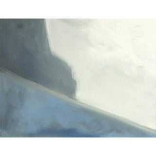 Abstract Ocean Cliff 36 X 48