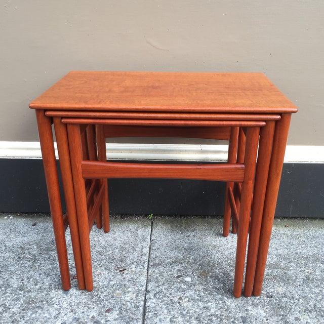 Hans Wegner Nesting Tables - Set of 3 - Image 3 of 11