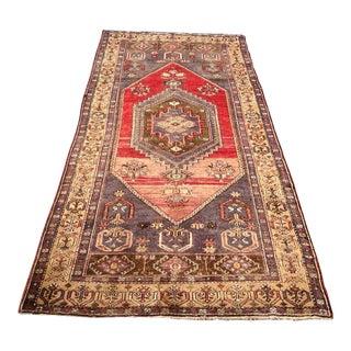 Vintage Anatolian Rug - 4′3″ × 8′11″