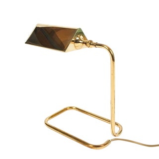 Gorgeous Brass Table Lamp by Koch Lowy, Germany For Sale