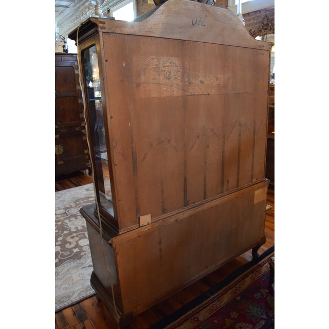 Antique French Style Mahogany Cabinet For Sale - Image 4 of 7
