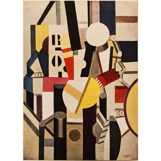 "1948 Fernand Léger Original Period Parisian ""Composition"" Lithograph For Sale"