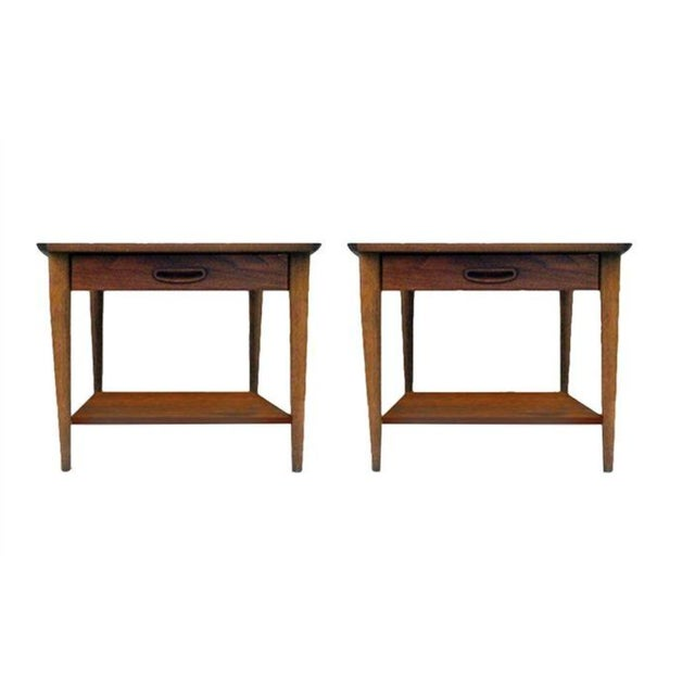1970s Lane Side Tables - a Pair For Sale