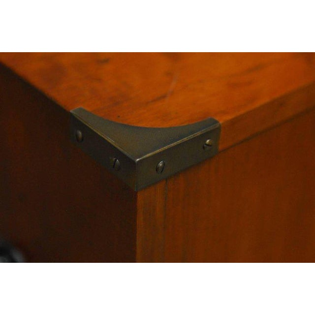 Diminutive Campaign Style Chest or Dresser by Hekman - Image 8 of 9