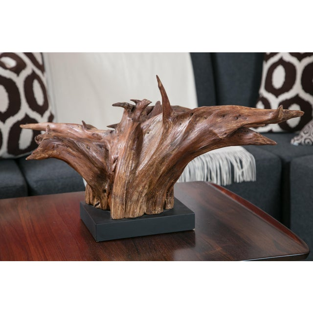 Mounted Driftwood Sculpture - Image 3 of 7