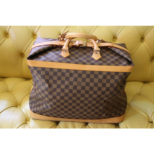 Special Edition Louis Vuitton Travel Bag, Damier Canvas For Sale - Image 12 of 12