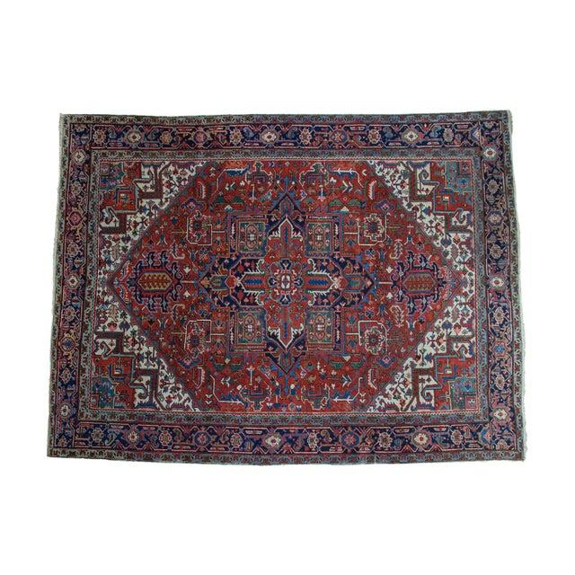 "Vintage Heriz Carpet - 8'1"" X 10'7"" - Image 1 of 10"