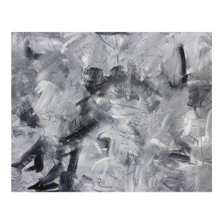 """""""Fred and Ginger"""" by Trixie Pitts Large Abstract Expressionist Painting For Sale"""