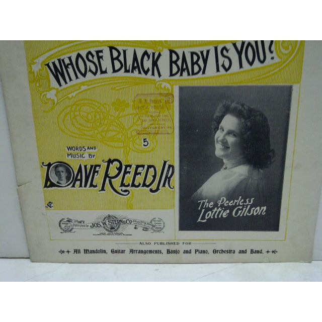 "Vintage ""My Hannah Lady"" Sheet Music For Sale - Image 5 of 7"