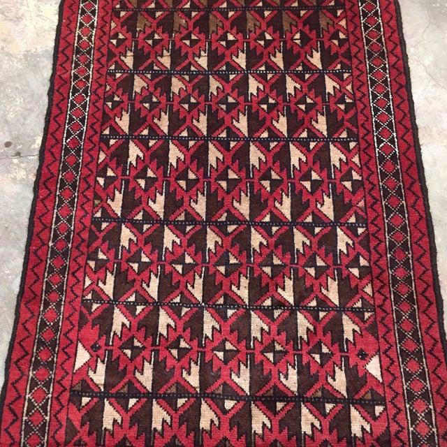 Balluchi Persian Handmade Rug - 2′11″ × 4′7″ - Image 3 of 8