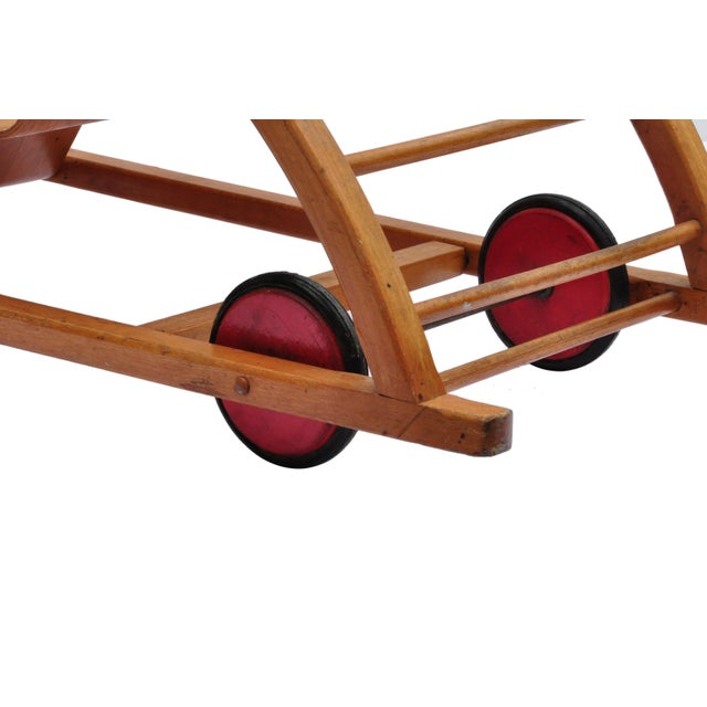 Child Swing Cart, Germany, 1956 For Sale - Image 4 of 6