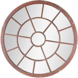 French Round Window Mirror For Sale