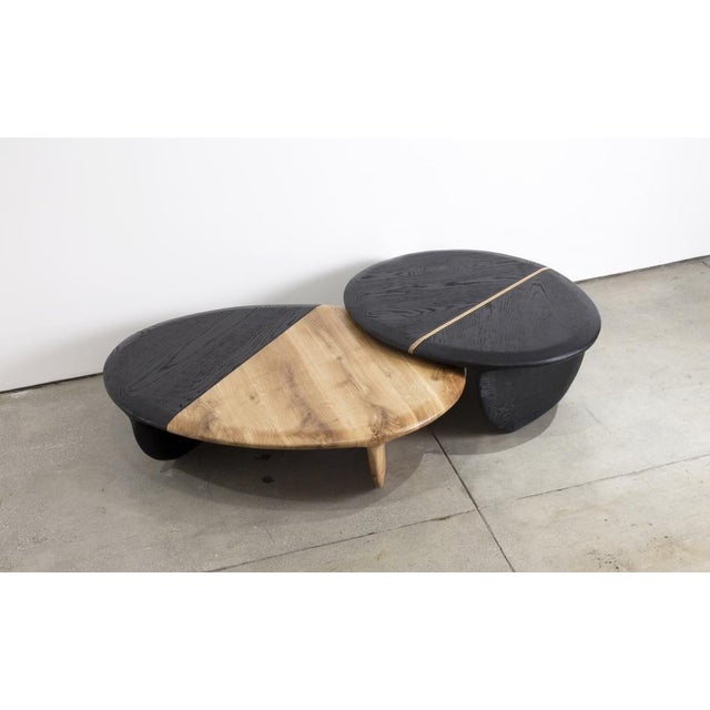 Contemporary Gal Gaon (Israeli, B.1967) Nesting Side Tables, 2017 For Sale - Image 3 of 3