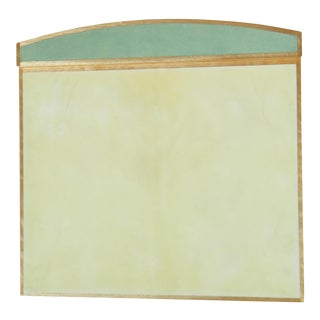 Shagreen & Parchment Desk Blotter For Sale